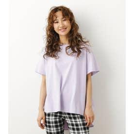 バックフレアドッキングTシャツ L/PUR1