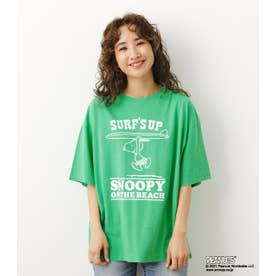 PEANUTS SURF'S UP Tシャツ GRN