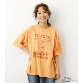 PEANUTS SURF'S UP Tシャツ ORG