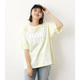 Solid tie dye Tシャツ L/YEL1