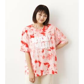 Solid tie dye Tシャツ ORG