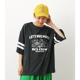 BBQ PARTY Tシャツ BLK