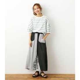 リメイクロングスカート 柄KHA5
