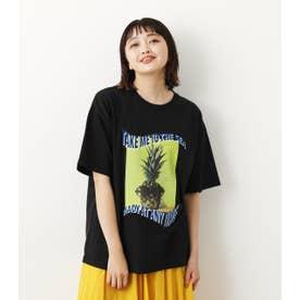 Summer Photo Tシャツ BLK