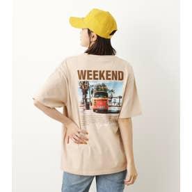 Summer Photo Tシャツ BEG