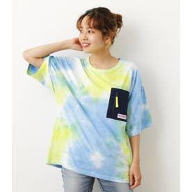 タイダイActive Tシャツ 柄BLU5