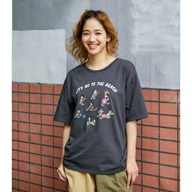 BEACH Tシャツ L/BLK1