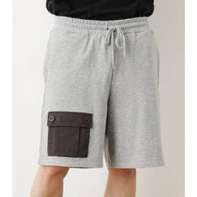 異素材ポケットショートパンツWL T.GRY