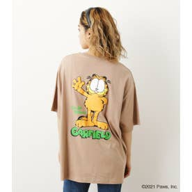 GARFIELD BIG Tシャツ BEG