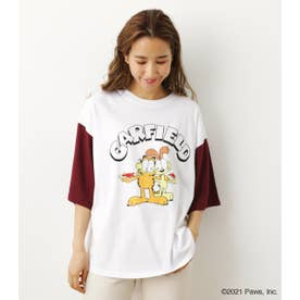 GARFIELD チェンジカラー Tシャツ WHT