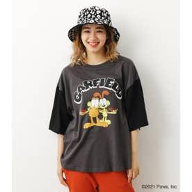 GARFIELD チェンジカラー Tシャツ BLK