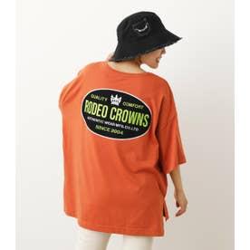 ビッグオーバルパッチTシャツ L/BRN1