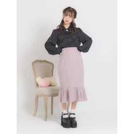 ハートバックルマーメードスカート (ピンク)