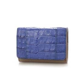 Henglong croco(ヘンローンクロコ)コンパクト折財布 (LONDON)