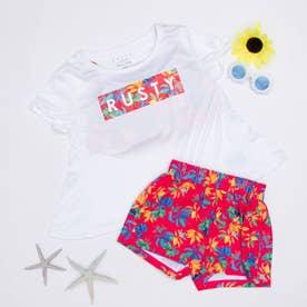 RUSTY/ラスティー キッズ水着SET  960803 【返品不可商品】(ピンク)