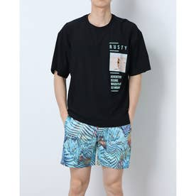 ハンソデ Tシャツ (BLK)