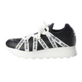 7005 LYCRA LEATHER BLACK/WHITE (BLACK/WHITE)