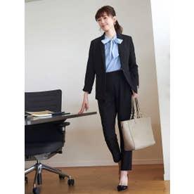 スタイルアップの足長スーツ♪ (ブラック(BL))