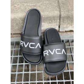 RVCA/スライドサンダル BB041-979 (ブラック)