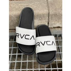 RVCA/スライドサンダル BB041-979 (ホワイト)