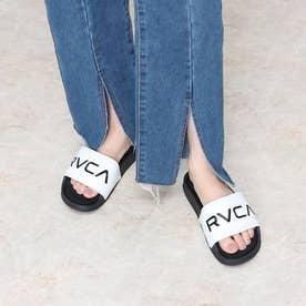 RVCA/スライドサンダル BB043-979 (ホワイト)