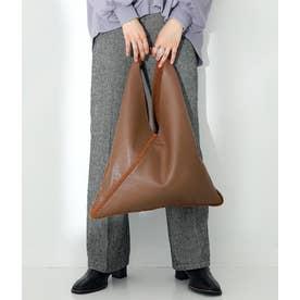 ボアパイピングデザインバッグ(ブラウン)