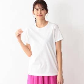 ハイトシャインクルーネックTシャツ (ホワイト)