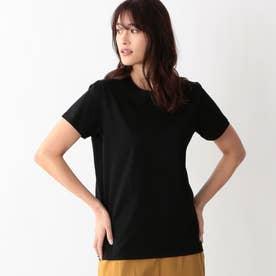 ハイトシャインクルーネックTシャツ (ブラック)