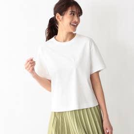 ◆◆【ドレスTシャツ】クルーネックT (ホワイト)