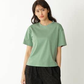 【ドレスTシャツ】クルーネックT (グリーン)