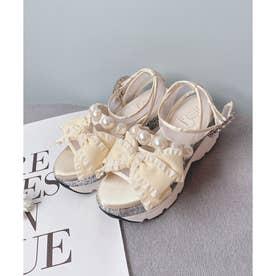EV ribbon sandal (オフ)
