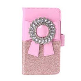 MG glitter ribbon CASE (ピンク)