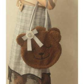 MG love teddy BAG (ブラウン)