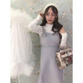 HS wool lace ジャンスカ (グレー)
