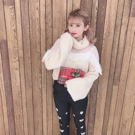 HB dot yuru knit (ベージュ)