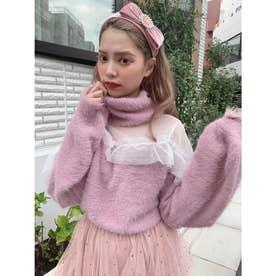 HB dot yuru knit (ラベンダー)