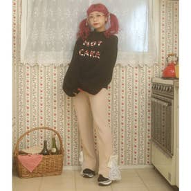 DR lace×knit LP/T (ベージュ)