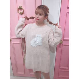 HB meow knit O/P (OFF)