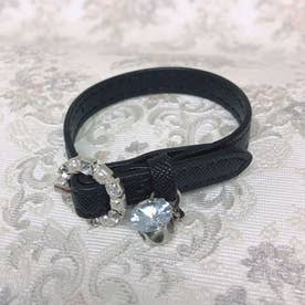 SG leather bangle (ブラック)