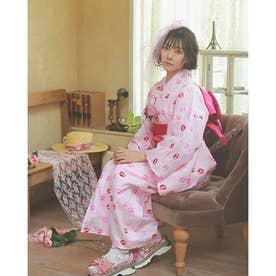 YK milkiss 浴衣 (ピンク)