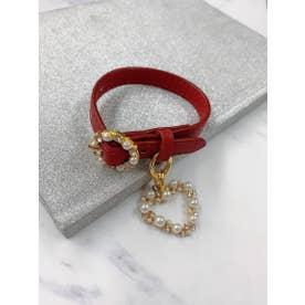 SG -leather bangle (ボルドー)