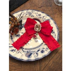 SG bijou ribbon (レッド)