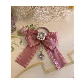 SG bijou ribbon (ピンク)