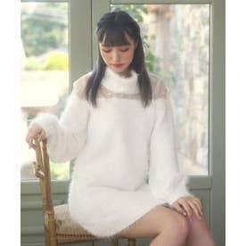 HB bijou knitO/P (ホワイト)