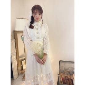 TS fuwa lace O/P (ホワイト)