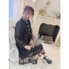TS fuwa lace O/P (ブラック)