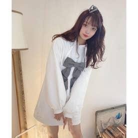 AD present hoodie O/P (ホワイト)