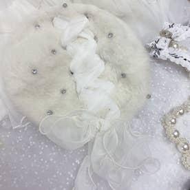 SX candoll angola beret (ホワイト)