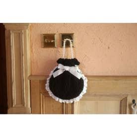 HB knit ribbon bag (ブラック)