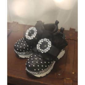 EV leather studs shoes (ブラック)